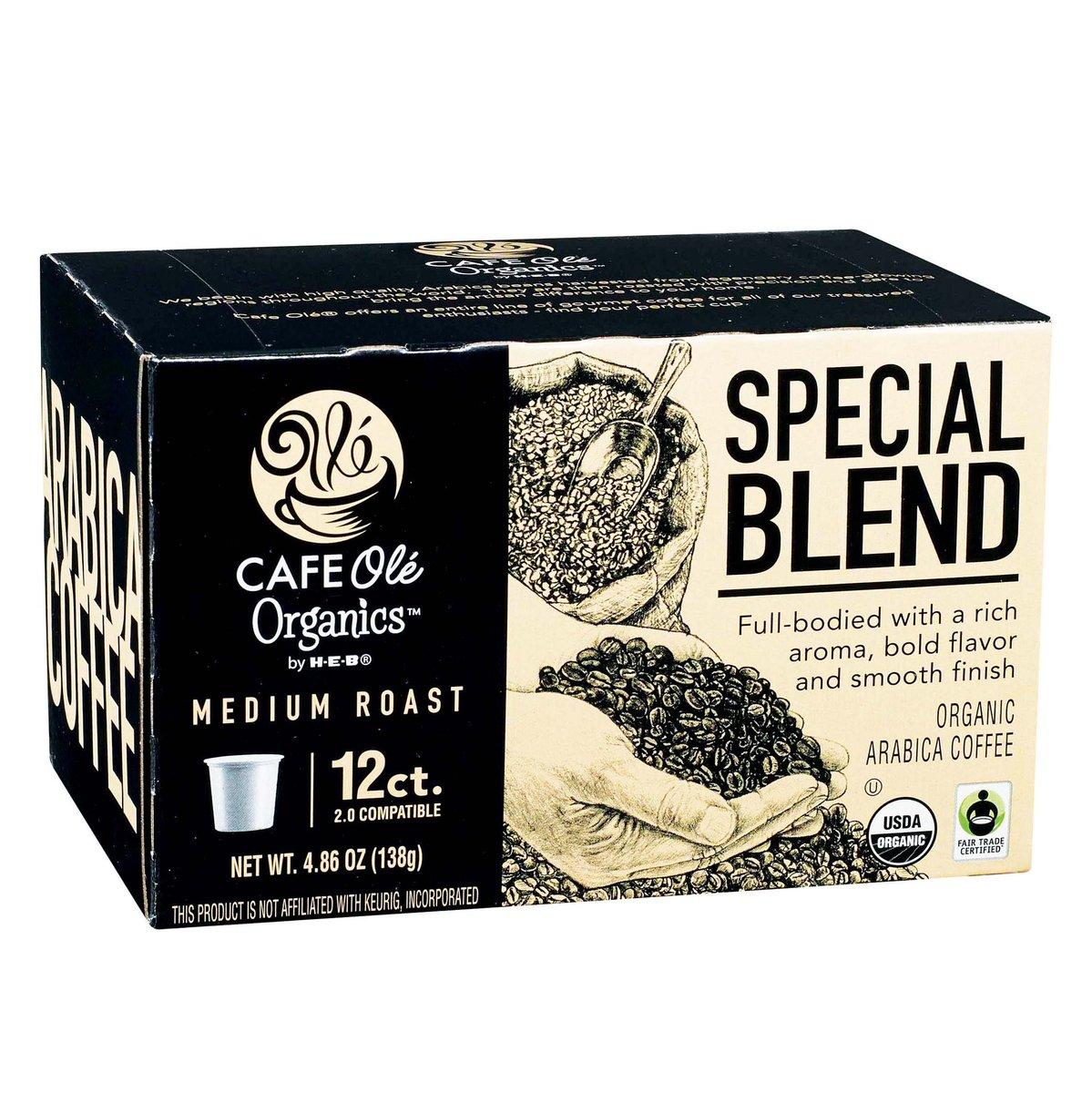 I love the @HEB Cafe Ole' special blend medium roast coffee ! ☕️Yummy ! #thursdaymorning