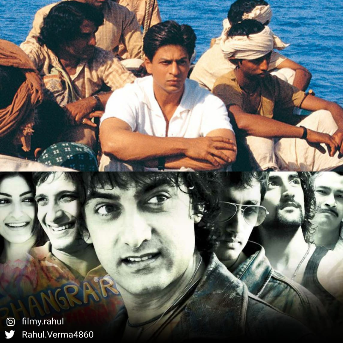 #Swades or #RangDeBasanti ?   Strictly choose any one !  @iamsrk  @aamir_khan