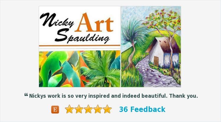 #WallArt #Homedecor #Landscape #Canvas, #OriginalArt Green and Yellow Decor, #Painting Title: Stormy Weather II