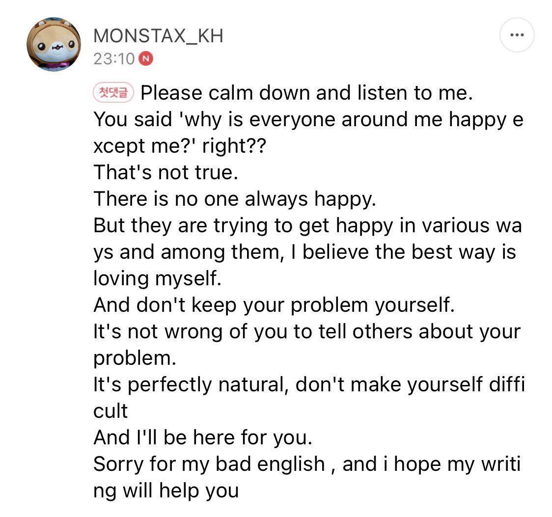 no, Kihyun deserves the whole world but it doesn't deserve him 😭