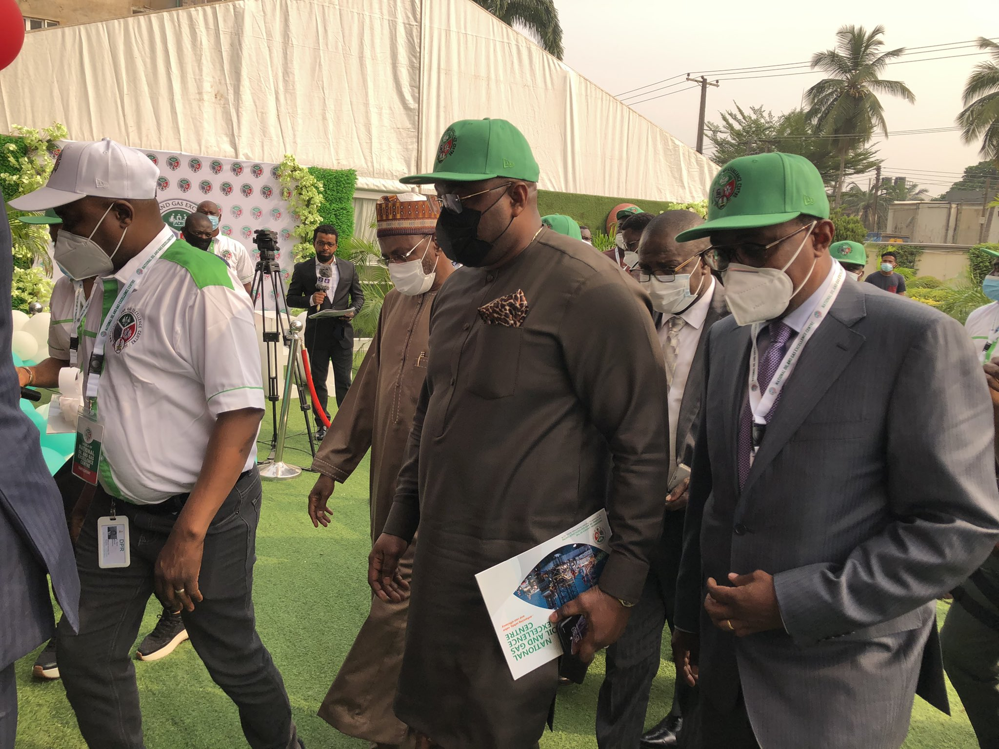 Buhari Inaugurates National Oil And Gas Excellence Centre In Lagos