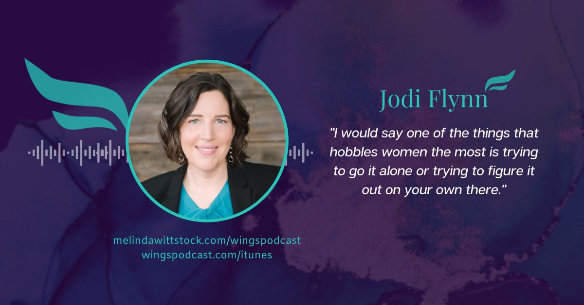 #ThursdayThoughts with @JodiMFlynn about the power of podcasting. Listen  #WingsOfInspiredBusiness #GrabYourWings #womenentrepreneurs