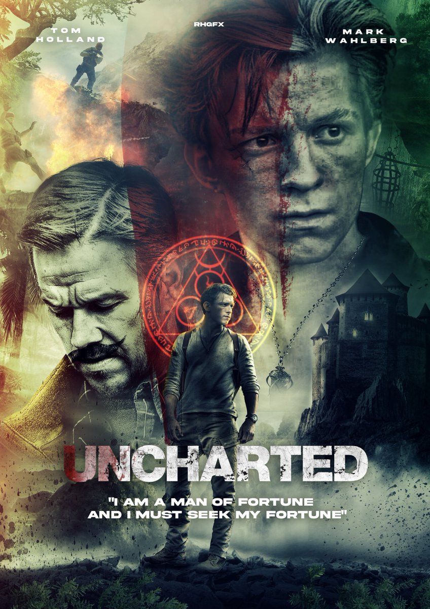 Uncharted (2022) Hindi Dubbed Official Trailer 1080p HDRip Download