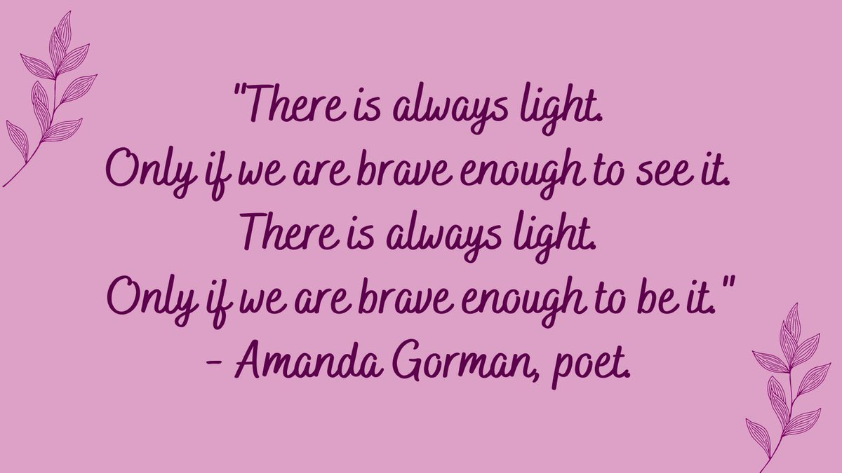 There is always light...  #ThursdayThoughts #quoteoftheday