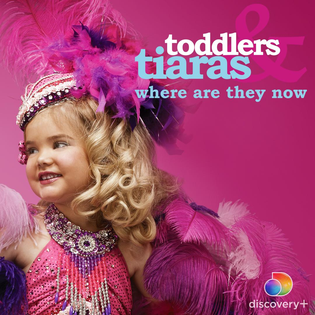 Sparkle baby! It's the moment you've been waiting for. Binge all the updates on #ToddlersAndTiaras: Where Are They Now? NOW on @discoveryplus.