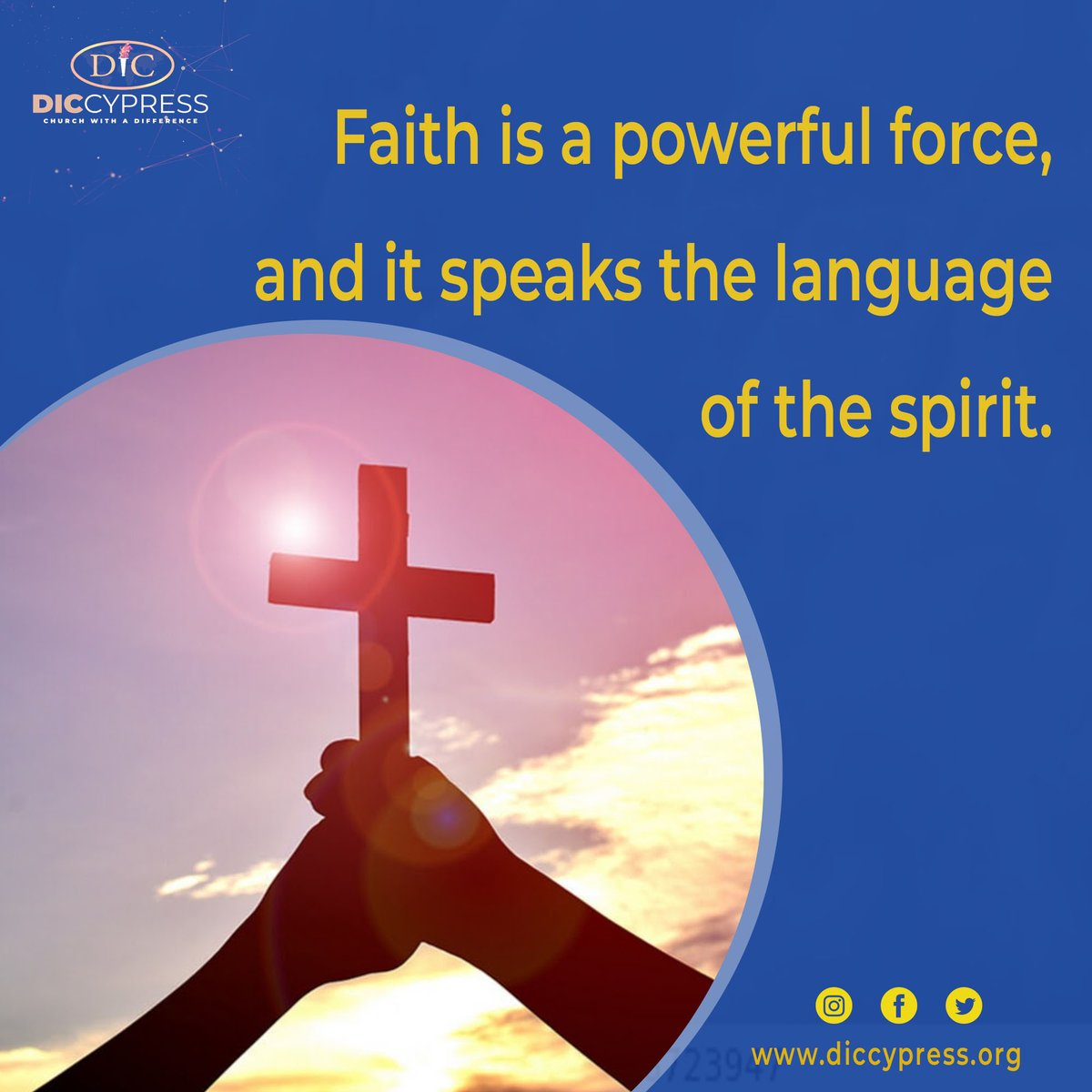 When you are possessed with the spirit of faith it changes the way you see things, and how you speak about them.   #Faithispowerful #languageofGod #HolySpirit #faithspeaks #prayer #Godsvoice #Heaven #Father #scripture #empowering #biblical #inJesusname