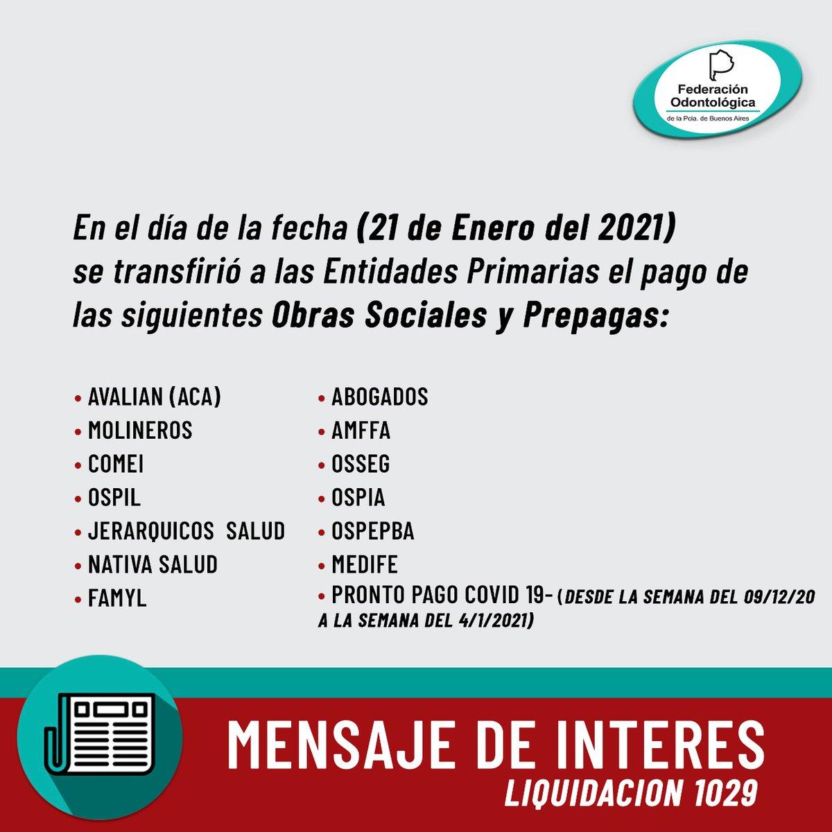 MENSAJE DE INTERÉS #pagos #fopba #somosfederacion