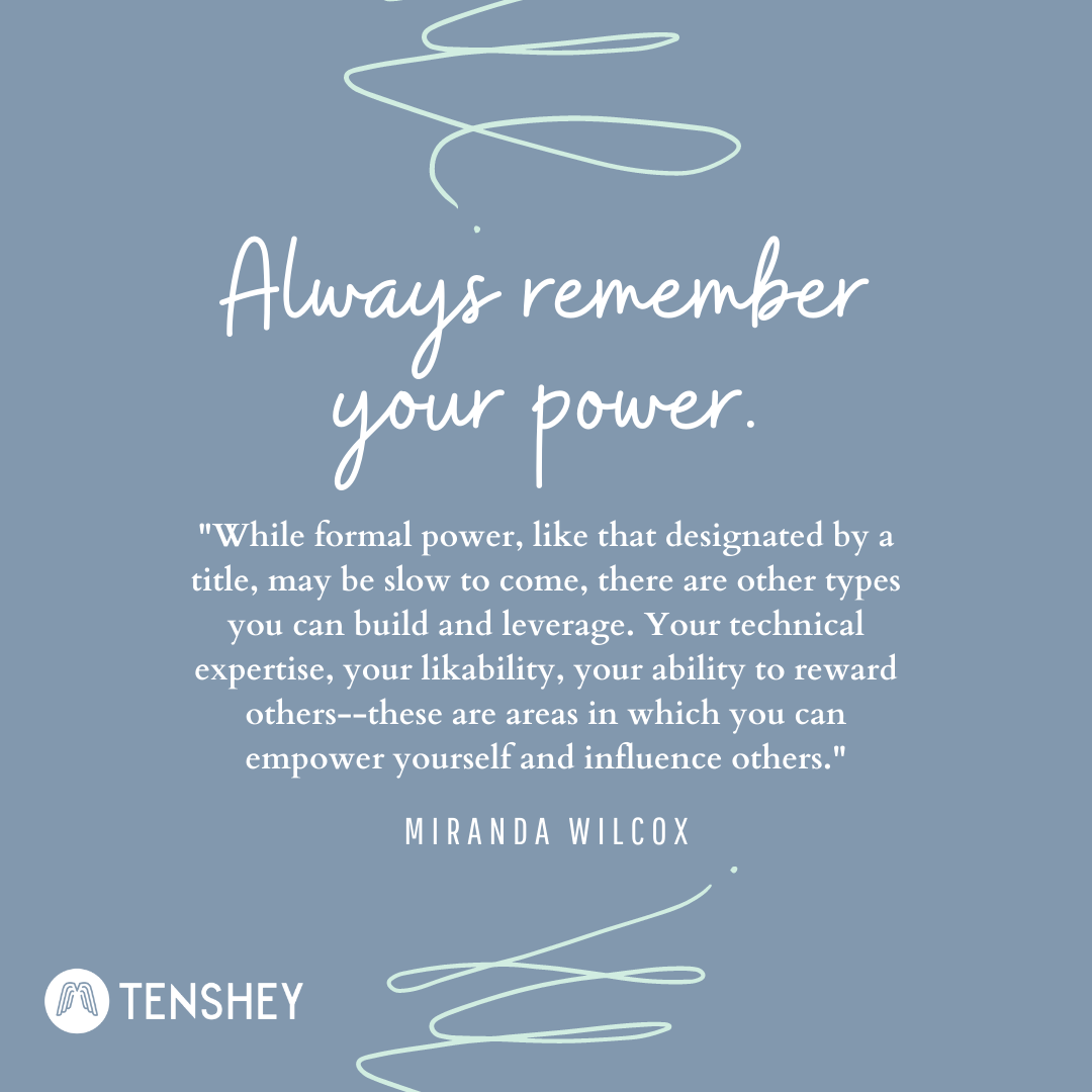 Tenshey Coach @ThrivePotential simple advice for leaders boils down to 4 words: Always remember your power. Power can be an intimidating idea, but your personal power is enough to make a difference!  #leadership #power #motivation #success