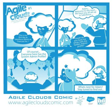 "Talk about your throwbacks... The Episode that started it All... #1 ""Everyone Is A Salesforce Admin!"" #Agilecloudscomic the #EasyChoice #ThursdayThoughts #ThursdayMotivation #thursdayvibe Adam the Admin & Bob the Boss Make history... Stay Tuned for much more"