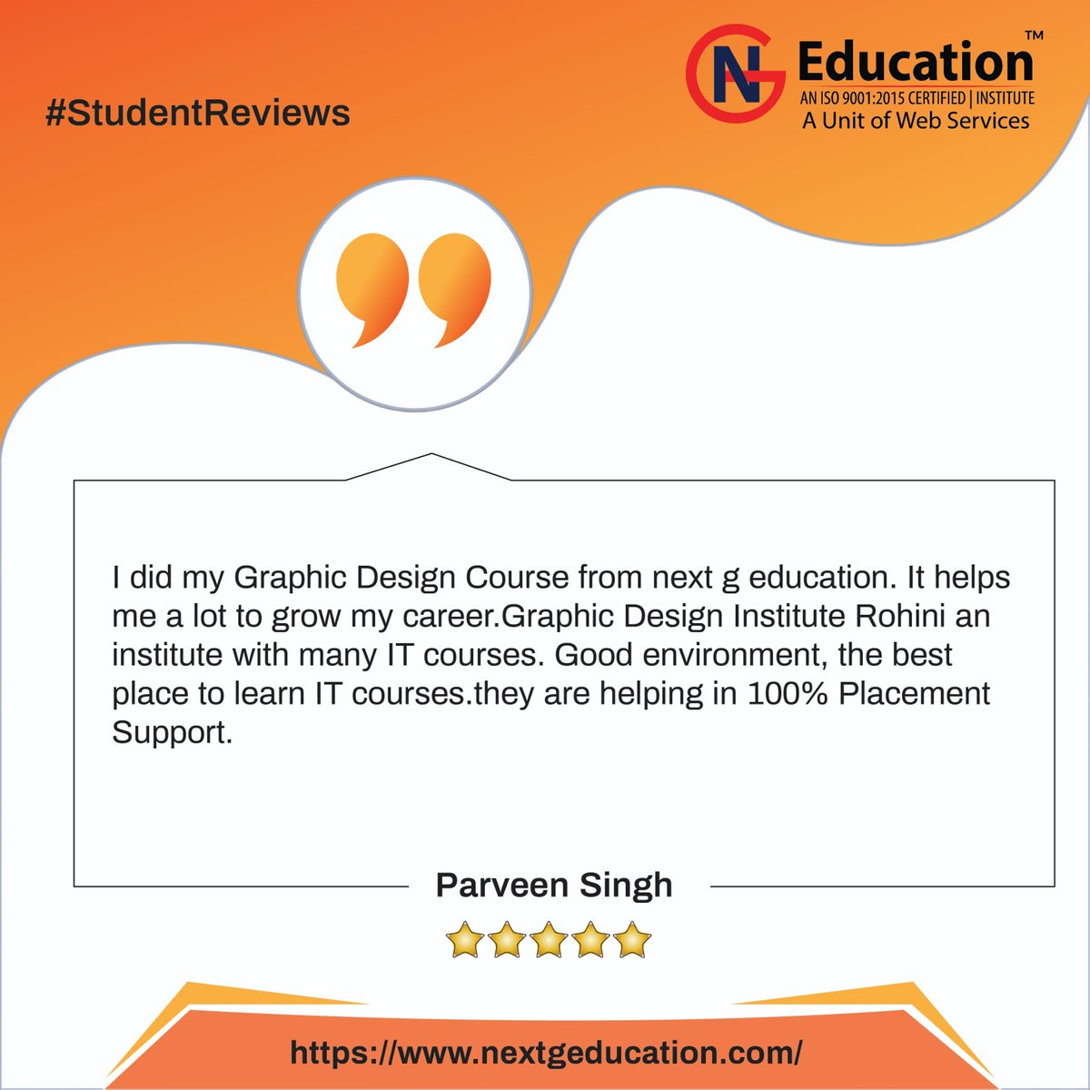 Thank you Parveen for sharing your experience with us🥰 All the best for your future endeavours! . . #HappyMakarSankranti #WorldValhallaDay #StudentsRejectPhysicalExams #studentreviews #coachingclasses