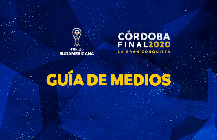 Guía de Medios para la Final Única de la CONMEBOL @Sudamericana   🔗