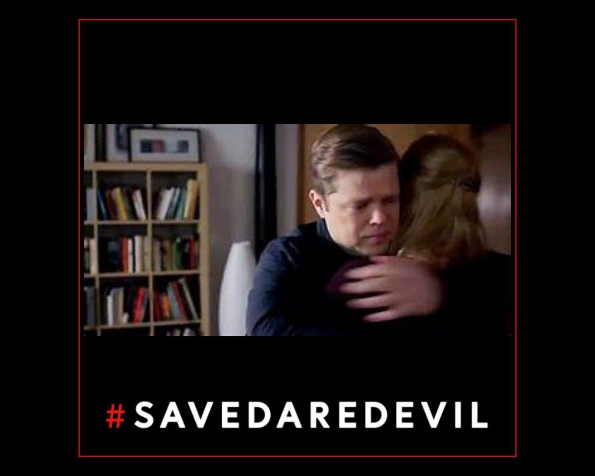 Happy #NationalHuggingDay   #SaveDaredevil