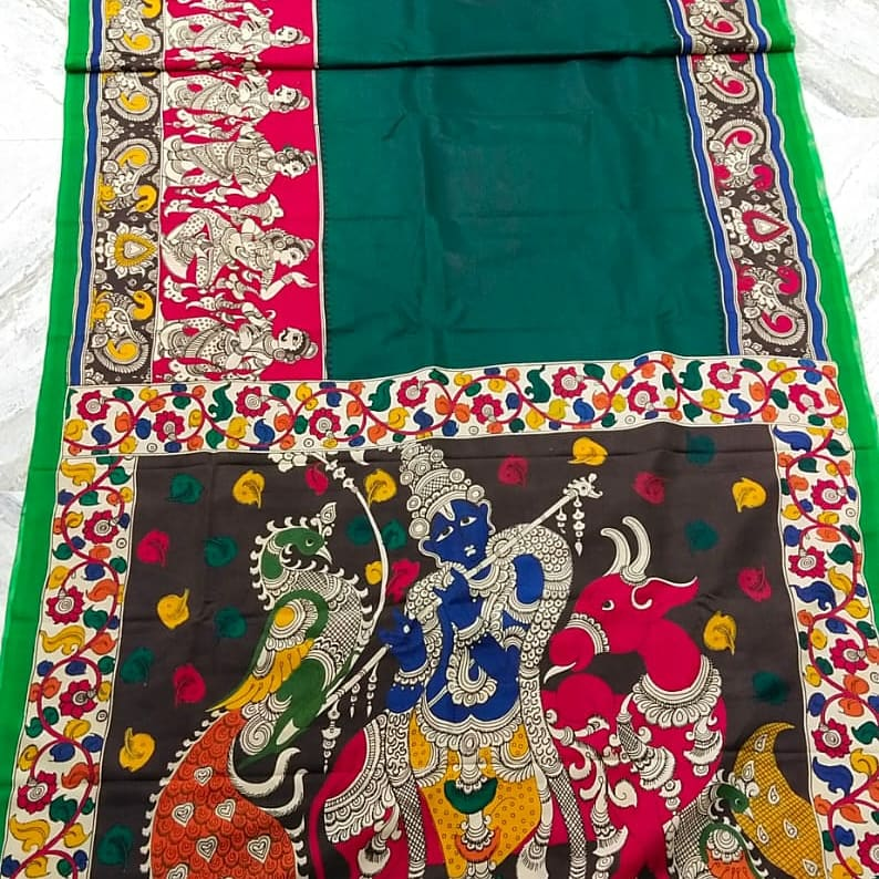 #penkalamkari #chennurisilk #Saree   #DM or WA @+919830989266 to book  #sareelove #sareelovers #SARI #indiancloth #sareesale #MadeInIndia #MakeInIndia #VocalForLocal #localbusiness #weaversupport #supportsmallbusiness #lockdownventure
