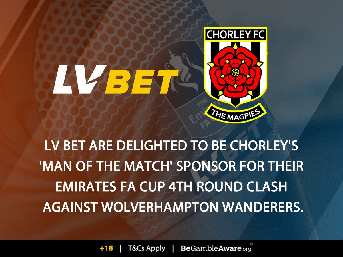 We've joined forces with @TheVanaramaNL partner @LVbet_com to offer you the chance to vote for tomorrow night's MAN OF THE MATCH - you might also win a signed Chorley shirt 👀  Full details ➡️    🖤🤍⚽️