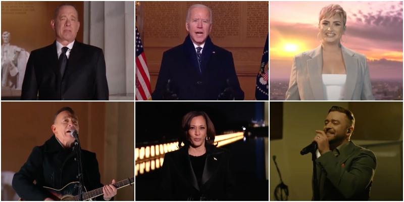 L' #InaugurationDay di #JoeBiden e #KamalaHarris si è da poco concluso oltreoceano con lo speciale televisivo #CelebratingAmerica presentato dal Premio Oscar #TomHanks
