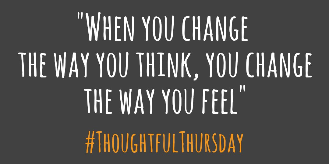 """TUNE IN - at 4pm today for Kathleen's #ThoughtfulThursday reflection """"When you change the way you think, you change the way you feel"""" #OnlyAtTheDoor #Think #Change #Feel #ThursdayThoughts"""
