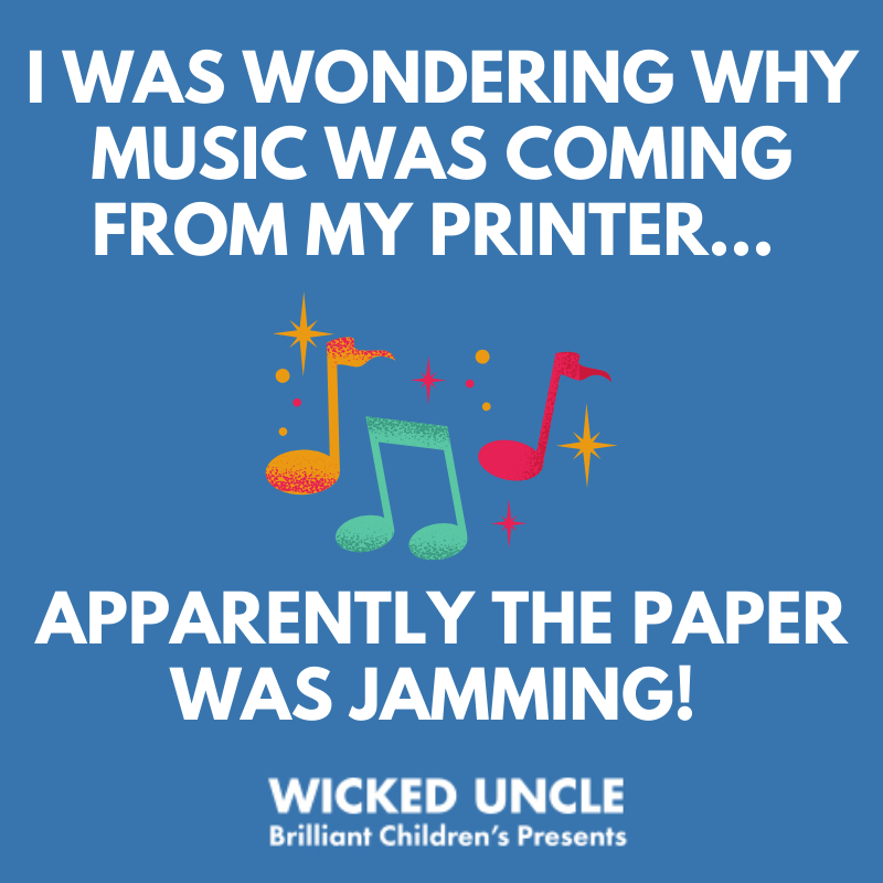 Going a little stir crazy working from home?! 🤣 #workingfromhome #JokeOfTheDay #ThursdayThoughts #DadJoke #Joke #ThursdayJoke #WickedUncle #WickedUncleJokes