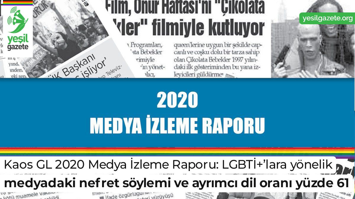 Raporda, LGBTİ+ haklarını ve eşitliğini gözeten mecraların da LGBTİ+'ları yayın politikalarının bir parçası yapmadıkları belirtildi.  Ayrıntılar: https://t.co/m725EjFWVZ  #yeşilgazete #lgbti @KaosGL https://t.co/WqeiRykyB7