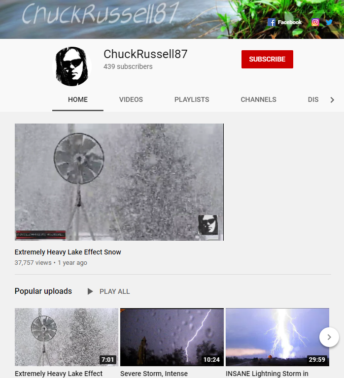 #thursdaymorning reminder to subscribe to my #YouTube channel for weather, nature and breaking news content!  LINK:   My 2021 goal is to reach 1000 subs! RT to help out 👍  #thursdayvibes #NaturePhotography #socialmediamarketing #morningmotivation #goals