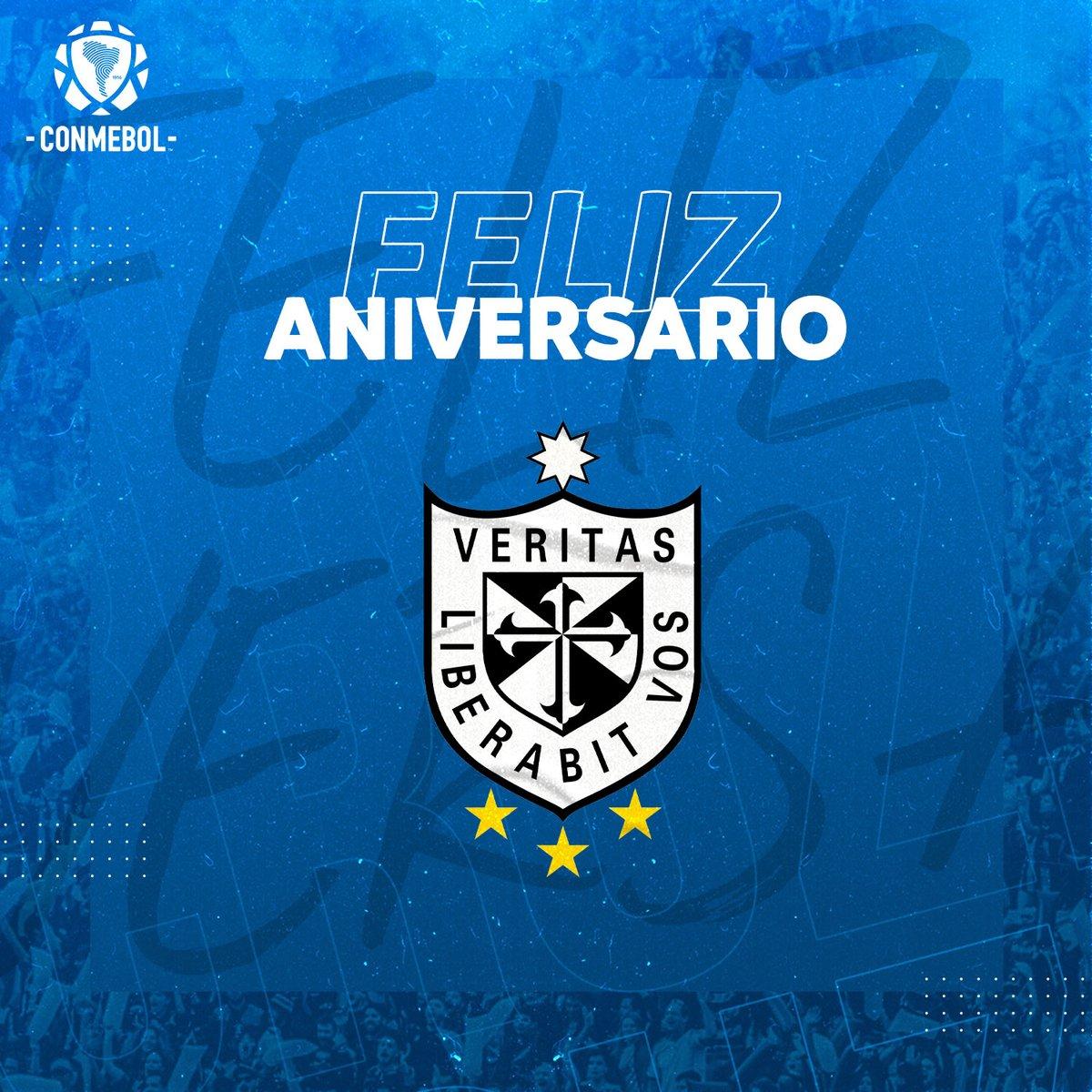 El día de hoy está de aniversario el @Club_USMP   ¡Muchas felicidades! 🇵🇪🥳🎉
