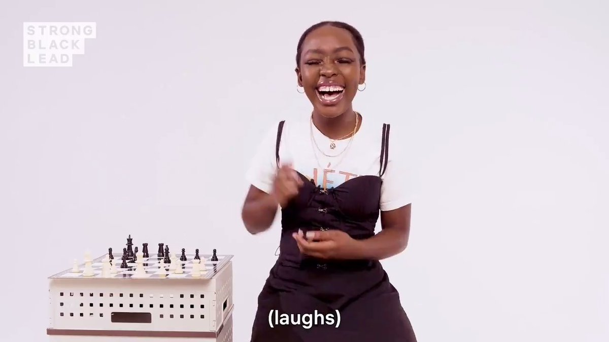 The game of chess? What You Know About That?  Meet Elsa Majimbo a.k.a. The real Queen's Gambit (@ElsaAngel19). Elsa is a 15x chess champion from Kenya, a hilarious comedian, and just an inspiring human who never takes no for an answer.   Watch and learn from this young queen!
