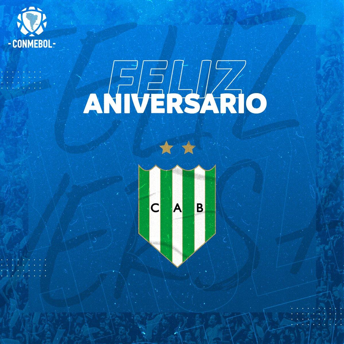 Hoy el @CAB_oficial celebra un año más de vida institucional⚽ 🇦🇷   ¡Felices 125 años! 💚🎂