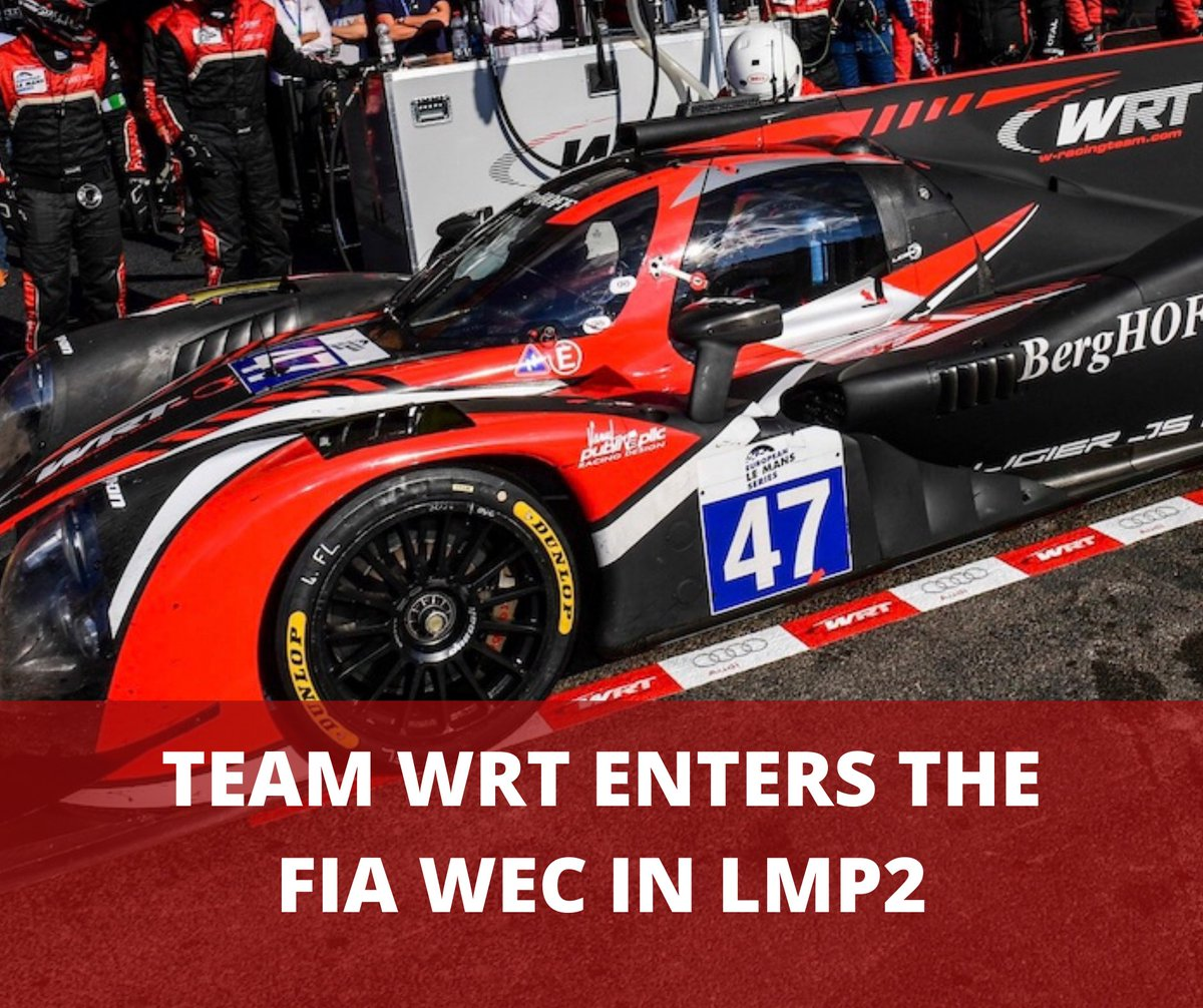 🤩 Fantastic news @followWRT!   #WEC #LeMans