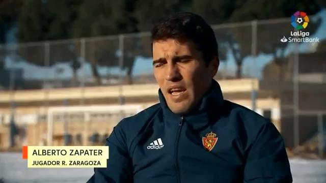 """🎙 Zapater: """"En el @RealZaragoza he vuelto a vivir cosas increíbles"""".  No te pierdas la entrevista al capitán del equipo aragonés.  #LaLigaSmartBank"""