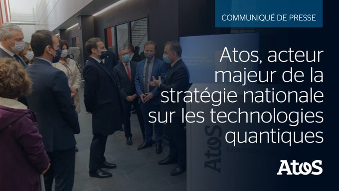 We are very proud to be associated to the 🇫🇷 #quantum national strategy announced...