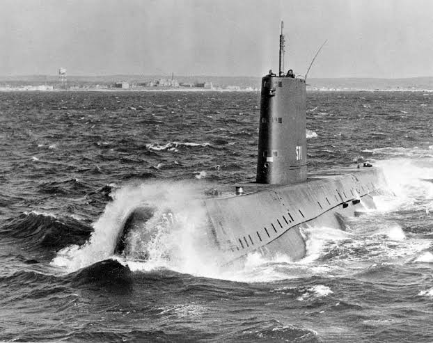 #OTD 21 Jan 1954, the first Nuclear Submarine called theU.S.S. Nautilus, was launched at Groton, Connecticut. It was commissioned later in the year, on30th September 1954.  #thursdaymorning #thursdayvibes #History #facts