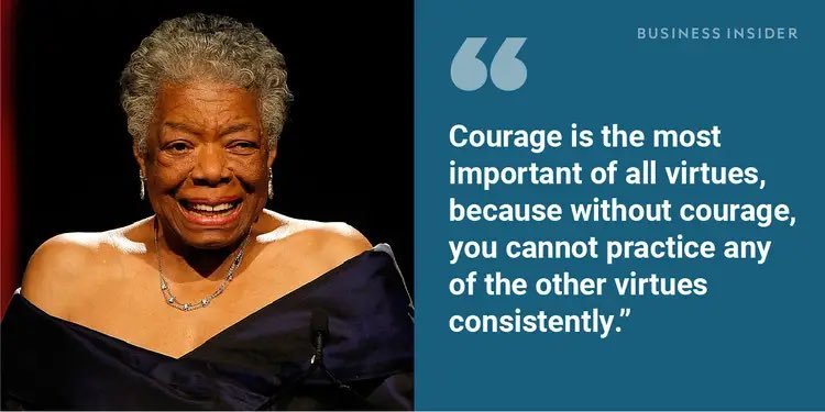 #ThursdayMorning quote by Maya Angelou #January21st