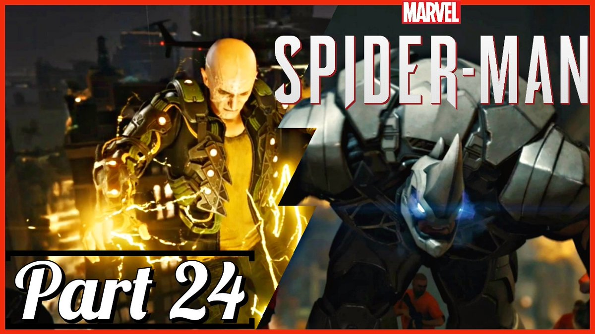 If you miss my return of #walkthrough #gameplay #Marvel #SpiderMan walkthrough gameplay part 24 #Electro and #Rhino Rampage. Here is the link 🔗  @YouTubeGaming @YouTube  So all of you #gamers and #marvelfans if you like the video. #Subscribetomychannel