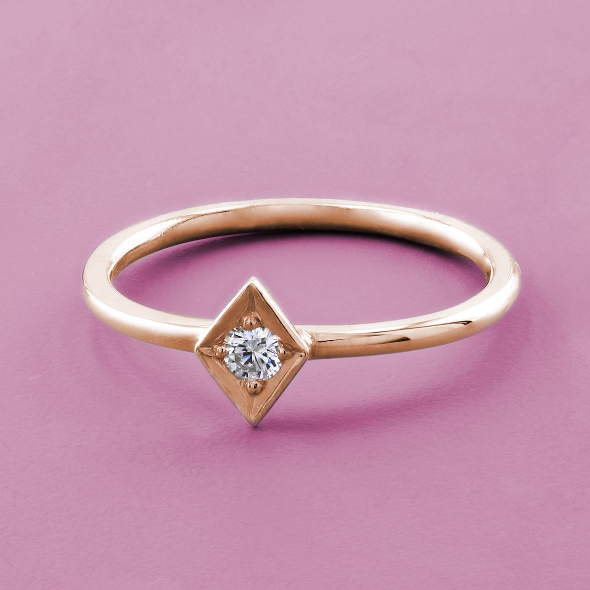 Posting out this pretty rose gold stacking ring this evening 💕  #jewellery #ring #lilycollection #lily #rosegold #18ct #diamond #diamondjewellery #jewelry #etsy #roundbrilliantcut #love #smallbusiness #sparkle #instalove