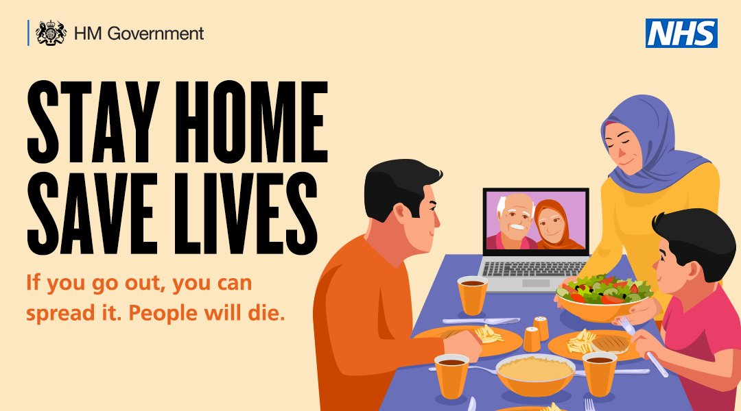 Around 1 in 3 people with #Covid19 do not show any symptoms, but can still pass it on. It is essential that we all do our part to keep London safe by staying at home. Stay home, protect the NHS, save lives