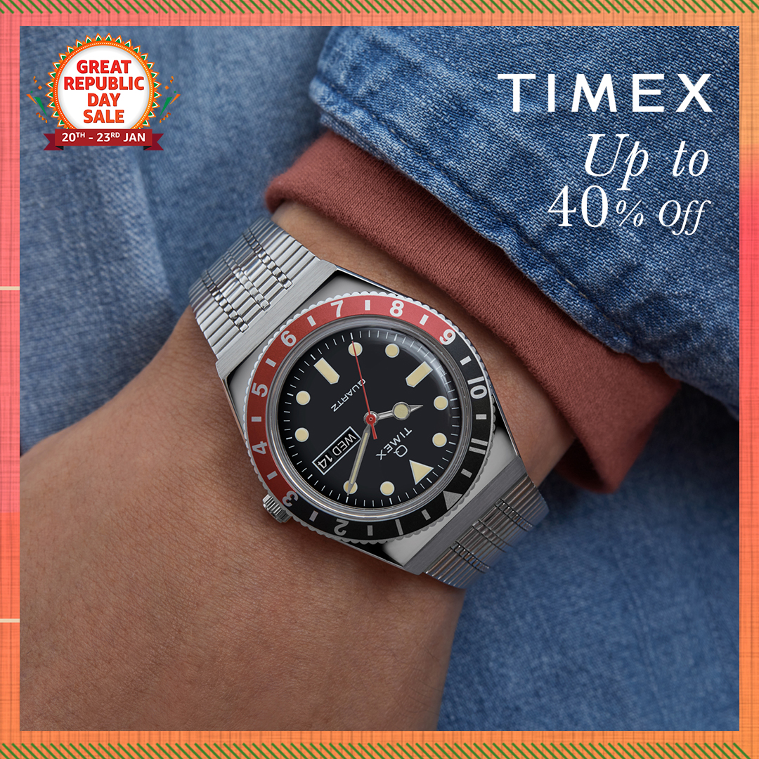 Stand out from the crowd with stylish and classy timepieces from legendary watchmaker @Timex_India! Shop now & get them at up to 40% off only at the #AmazonGreatRepublicDaySale:   #Timex #Watches #NewBeginningBigSavings #AmazonFashion #HarPalFashionable