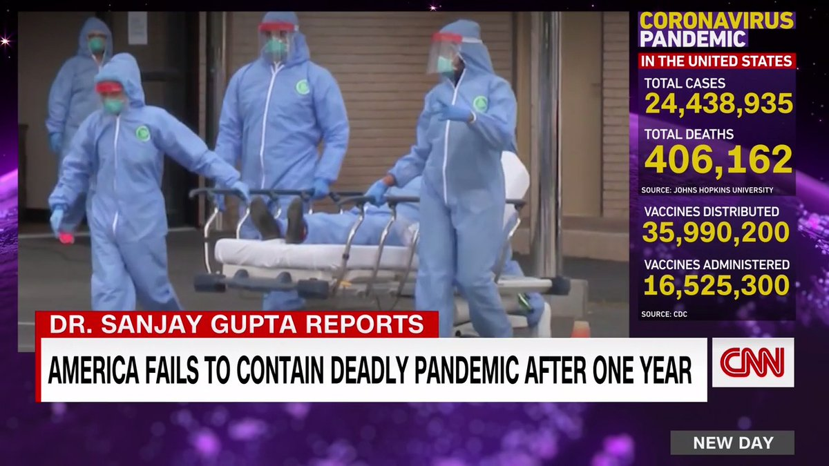 "The CDC confirmed the first coronavirus case in the US exactly one year ago. @drsanjaygupta looks back at how the country failed to contain the deadly pandemic.  ""Make no mistake, this did not need to happen. We had met the enemy and it was us."""