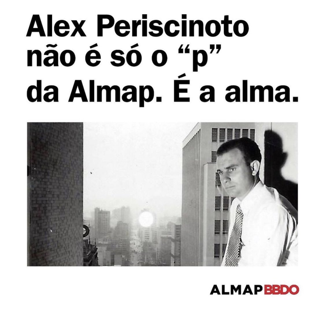 Image for the Tweet beginning: Bonita homenagem da @AlmapBBDO