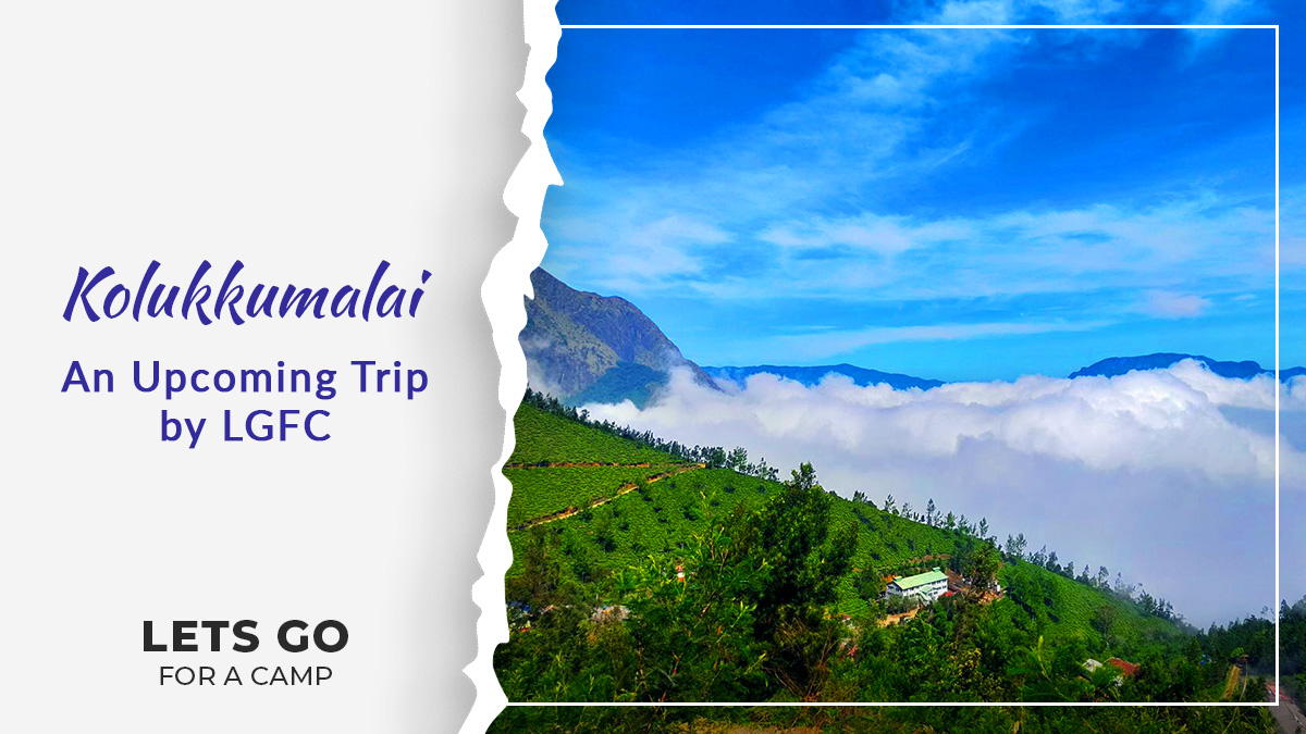 This approx. 90 years old Tea Estate Kolukkumalai will delight you with its traditional tea-making processes and with the scenic beauty it is located in. Join us on 6-7th Feb and then on 20-21st Feb (Women only)  #lgfc #letsgoforacamp #TamilNadu #travelgram  #thursdayvibes
