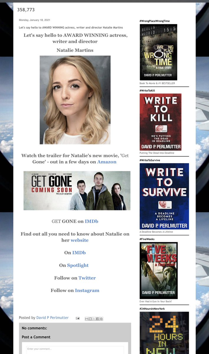 ⭐️⭐️⭐️⭐️⭐️ I do believe, today's the day! The #movie @GetGoneMovie with @NDC_Martins is now on @PrimeVideo ONE TO WATCH! #GetGone #movies #NewRelease #IARTG #thursdaymorning #ThursdayThoughts #ThursdayMotivation #mybookagents #actress #actor 🎥🎬⭐️⭐️⭐️⭐️⭐️