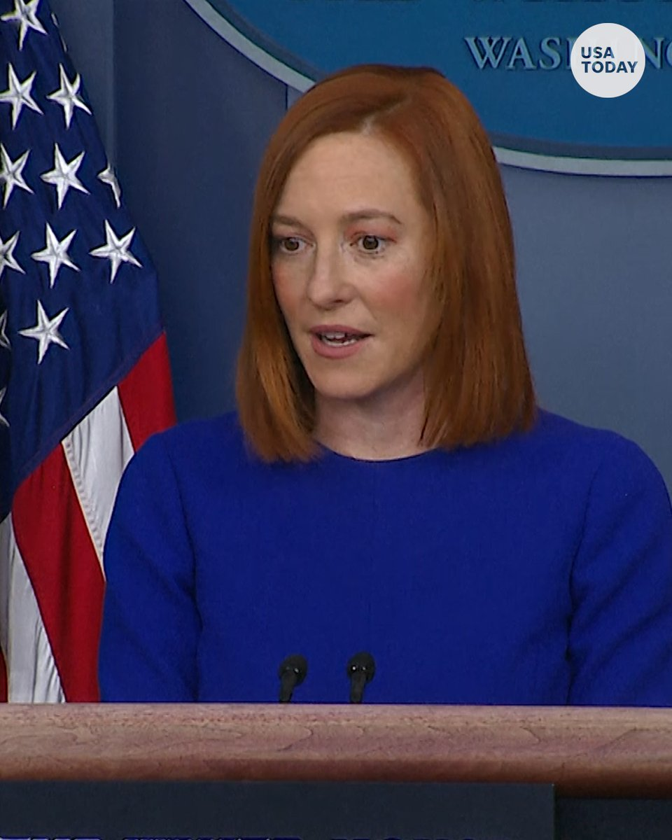 "Jen Psaki, President Joe Biden's White House press secretary, says the goal is ""sharing accurate information with the American people."""