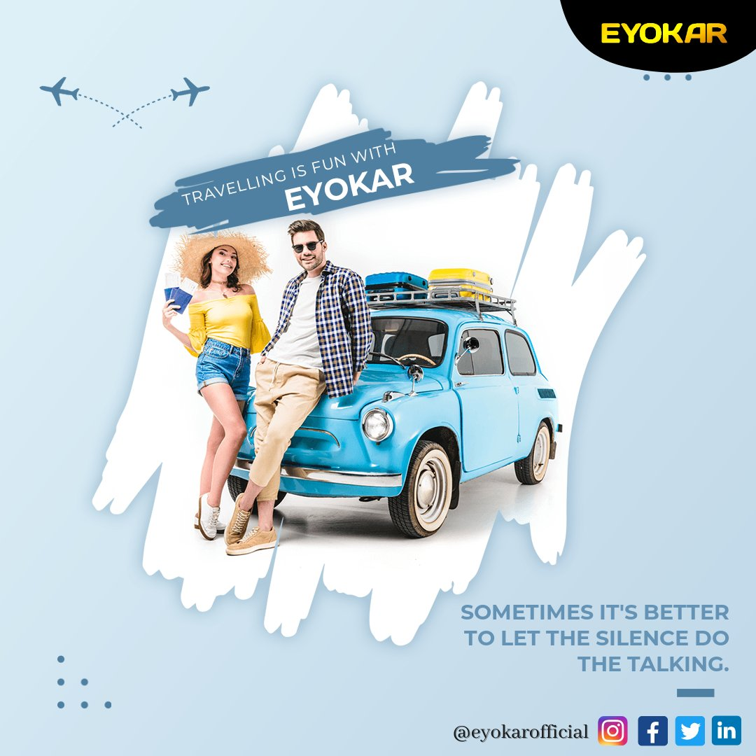 Wanna hangout with friends or want to go for an important meeting? Hurry up & Book your Cab with Eyokar  #thursdayvibes #travel #Dreamcatcher #Enem2020 #JasLy  #Goa