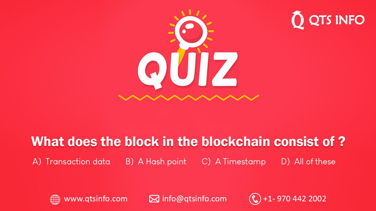 It's ok to think and answer! Think for a while and drop your answers in the comments section. Check back tomorrow for correct answer. To learn more about blockchain register here:  #ThursdayThoughts  #eotv #usalearning  #OnlineCourse #BernieSanders