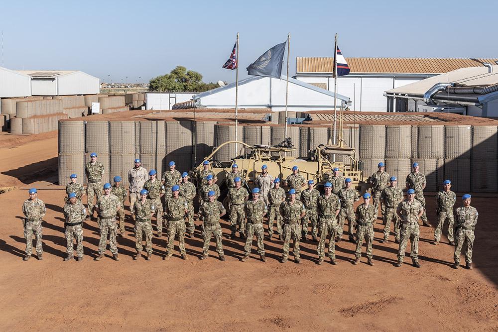 En Décembre dernier, un premier contingent des forces armées du #RoyaumeUni 🇬🇧 est arrivé en #Mali pour soutenir et renforcer la contribution de la MINUSMA à la protection des civils de la région de #Gao.  Cliquez ici pour lire la suite ➡️