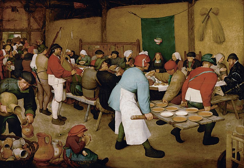 Pieter Bruegel the Elder c.1525-69 is today's #GraysonsArtClub pick. I am always swept up in the human drama and detail whether it be a peasant wedding, a gloomy day, Christ on his way to the cross or the Triumph of Death.