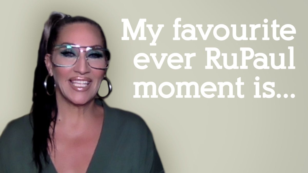 Ahead of tonight's new episode of @dragraceukbbc, we sat down to play Finish the Sentence with #MichelleVisage