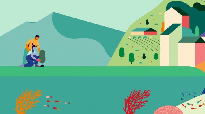 """""""As climate change hits harder, world must increase efforts to adapt"""". The @UNEP has launched the 2020 #AdaptationGap Report.  It emphasizes the role of nature-based solutions – locally-appropriate actions that address societal challenges.  🔗  #ForNature"""