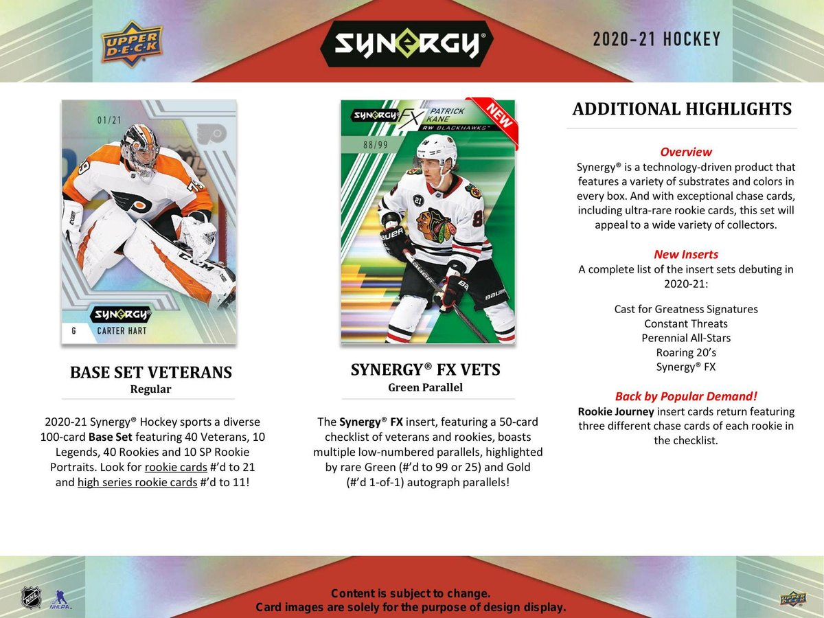 15 teams to go.  Let's break this tonight! 1 Hobby UD Synergy and UD Artifacts 1 Auto Jersey (Random Draw) 1 Auto Game Puck (Random Draw) Each team is a chance to win the puck or jersey Use code NHLBR03 at checkout to get $5 off $20  @HobbyConnector #NHL