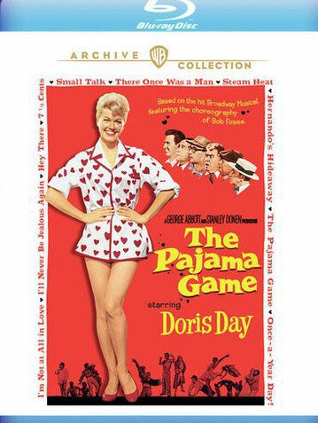 #StayHome & #Read our #Review The Pajama Game on #Bluray.   #thursdaymorning #thursdayvibes #ThursdayThoughts #ThursdayMotivation #ThrowbackThursday #SunriseCelebration #COVID19 #COVIDSecondWave #Corona #coronadebat #movietwit #MovieReview #MovieReviews