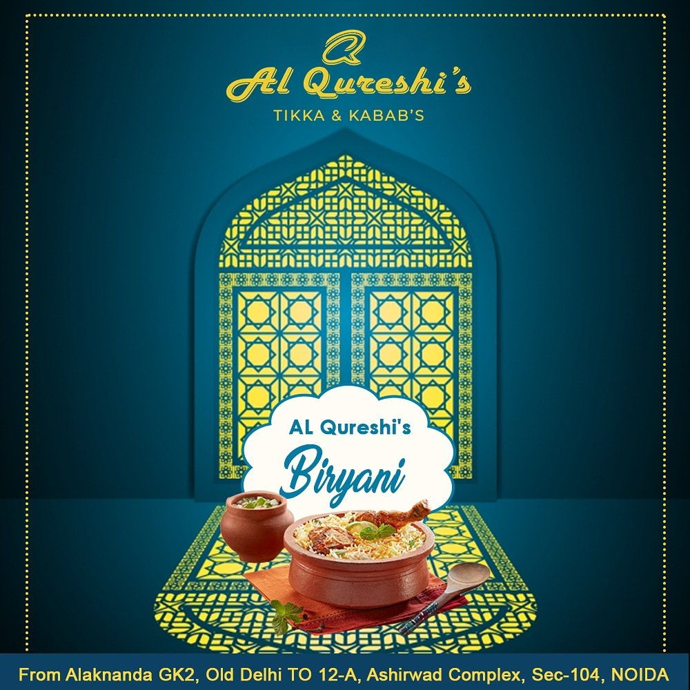 #biryanilovers Our Biryani is best because we know your connection with #biryani  . . . . . #alqureshis #foodie #foodshare #foodstagram  #foodspotting #noidafoodblogger #foodblogger #bestfoodinnoida #noidafoodies #instafood #picoftheday #instagood #foodphotography