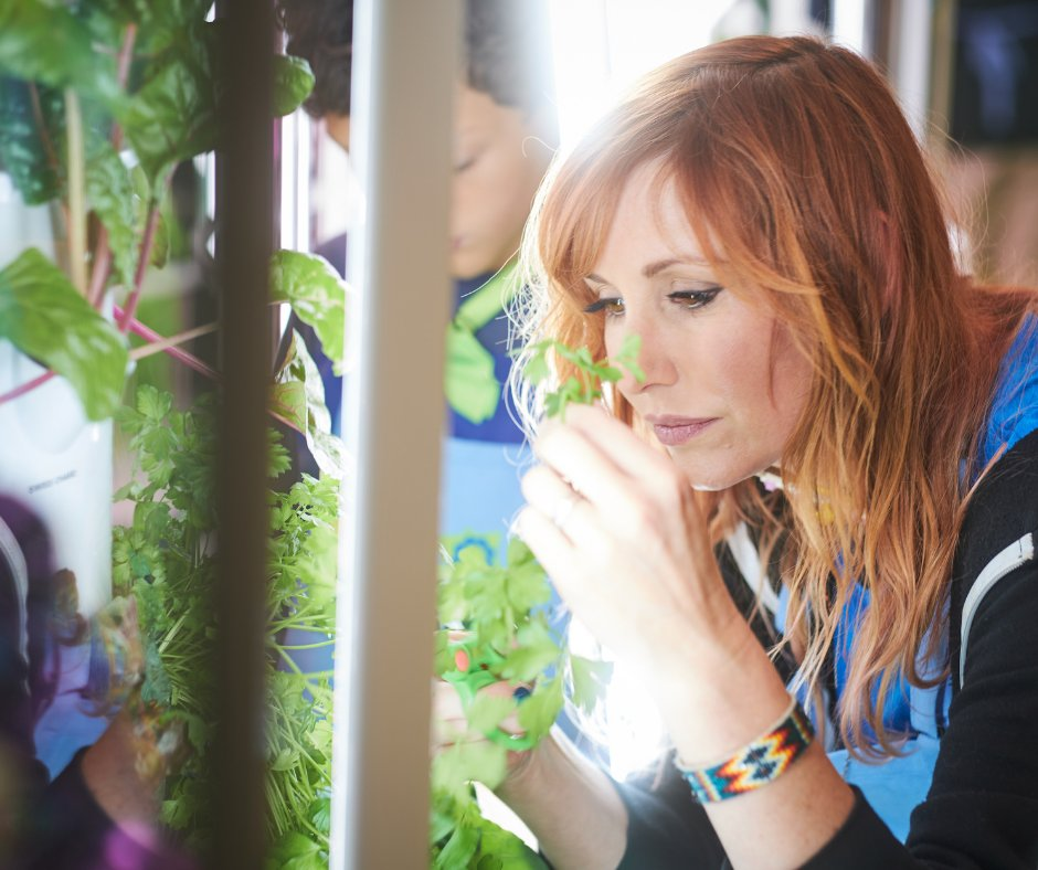 Watch @CrashTestShow #seasonfinale on @ScienceChannel on January 22 at 12:30 pm ET/PT. Host @KariByron learns all about growing healthy food with @towergarden from our students! https://t.co/Tt2braUiph